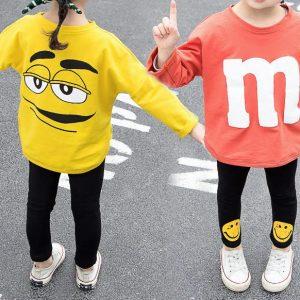 חליפת M&M כתומה