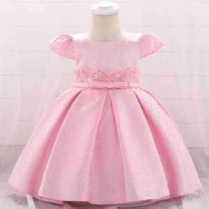 שמלה נסיכותית ורודה