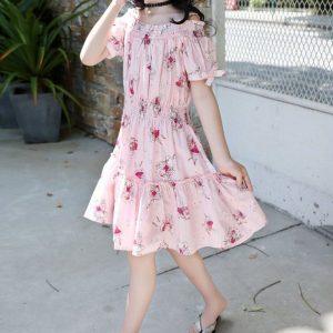 שמלה דגם פיה לילדה