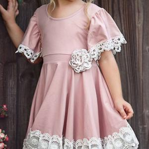 שמלה לילדות איכותית מרשמלו