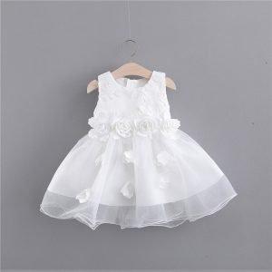 שמלת שושבינה לילדות שושן צחור