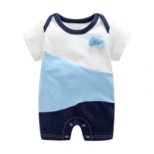 אוברול לתינוקות בנים כחול