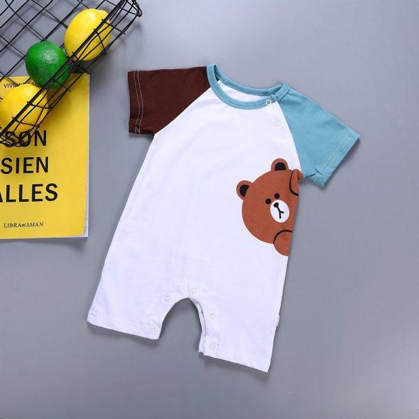 אוברול לתינוקות דוב מציץ