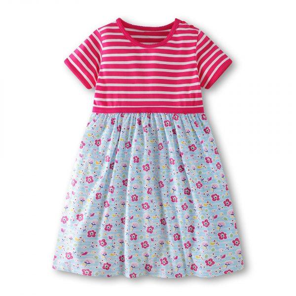 שמלה לילדות פרחים מתוקים
