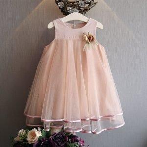 שמלת שושבינה יפה לילדה