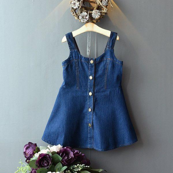 שמלת ג'ינס לילדות מספר 1