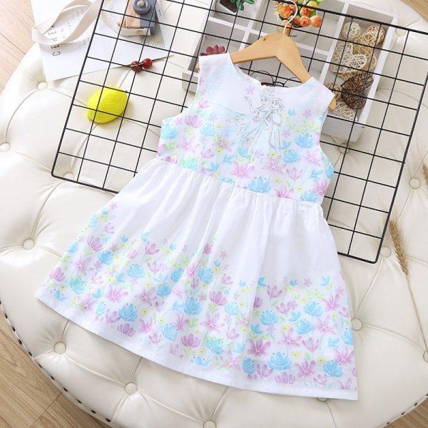 שמלה לילדות אנה ואלזה