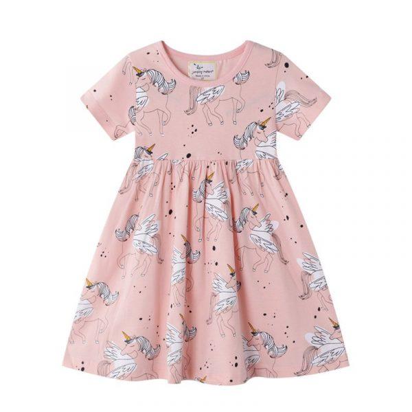 שמלת חד קרן לילדות