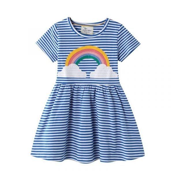 שמלה לילדה קשת מרגשת