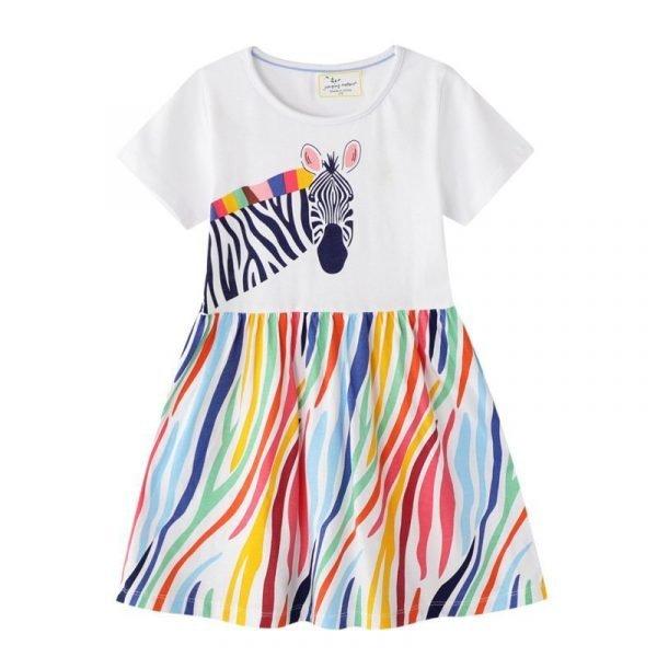 שמלת זברה מטריפה לילדות