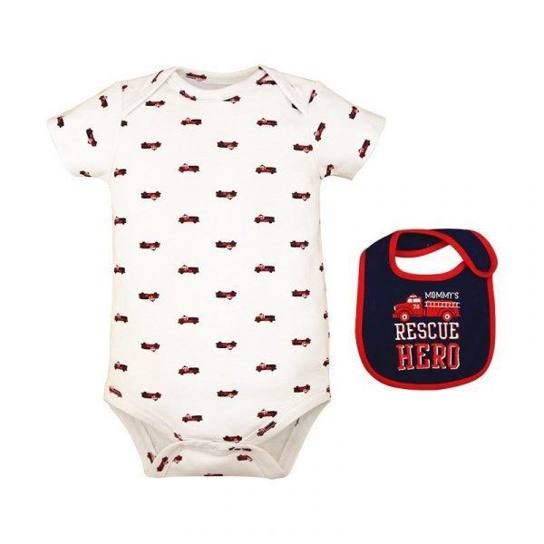 סט בגד גוף לתינוקות גיבור הכבאית