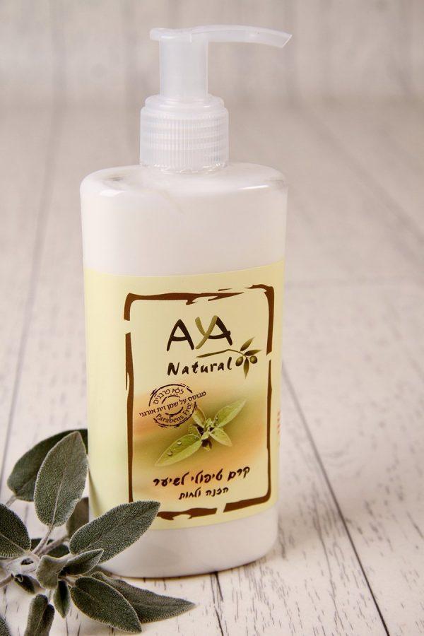 קרם לחות טיפולי מחומרים טבעיים לשיער