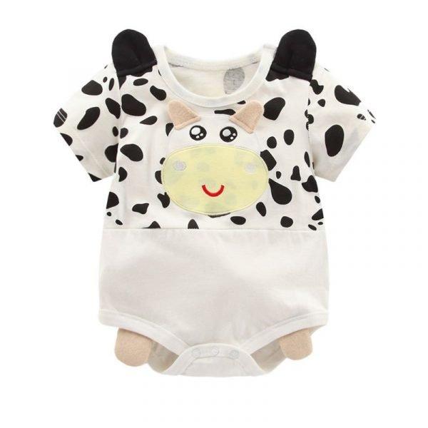 בגד גוף כותנה פרה מתוקה לתינוקת