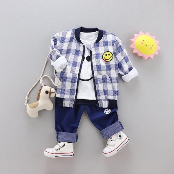 חולצה ומכנסיים חיוכוני מגניבוני לילד