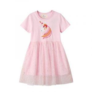 שמלה לילדות חד קרן מאוהב