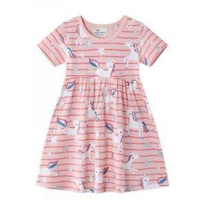 שמלת חד קרן חלומית לילדות